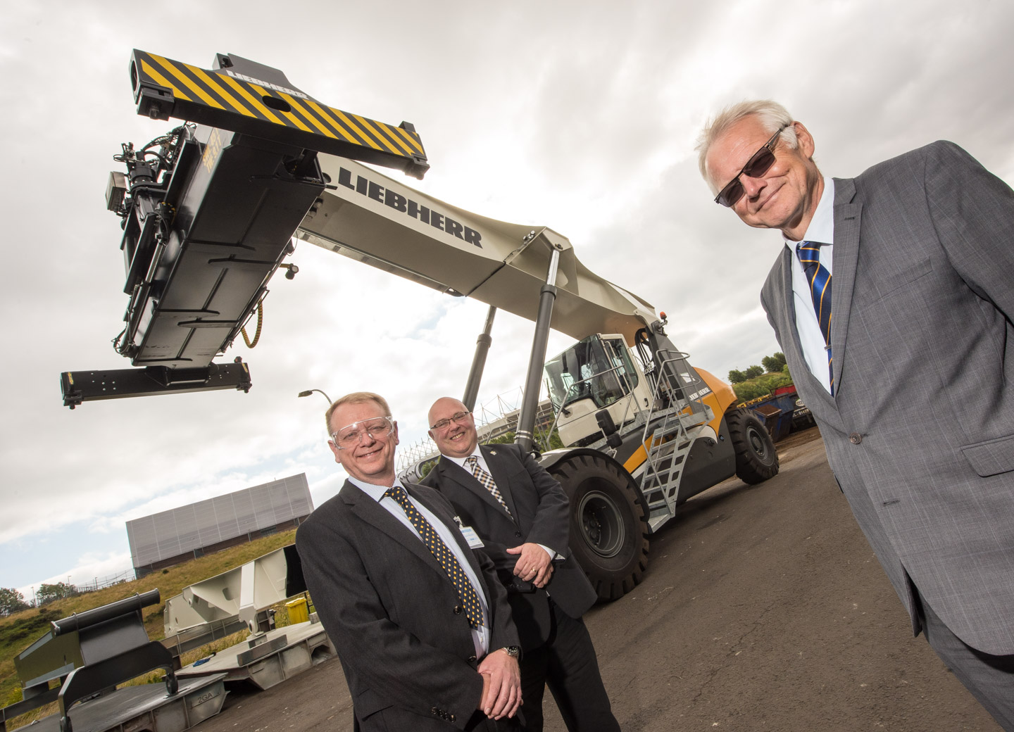 Liebherr and Sunderland City Council