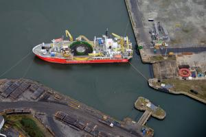 Spooling at Port of Sunderland