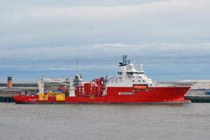Fugro Symphony at Greenwells Quay