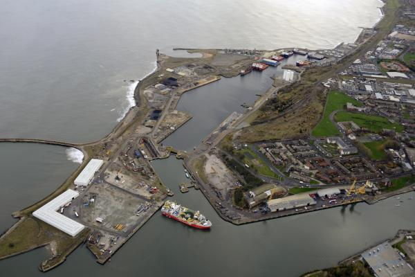 Aerial view of Port Nov 2017