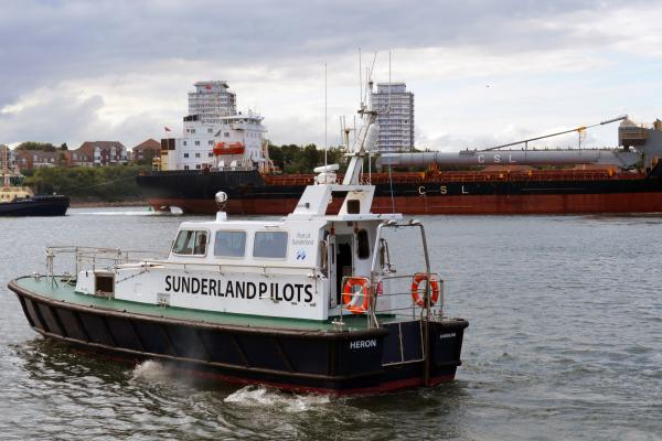 Port of Sunderland pilotage boat
