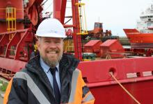 Paul Olvhoj Sales Manager at the Port of Sunderland